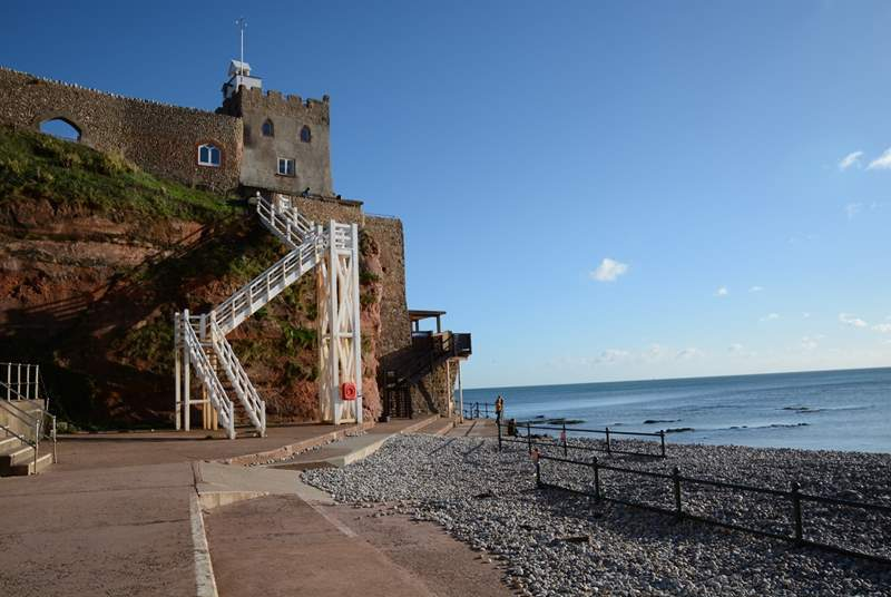 Jacobs Ladder at Sidmouth.