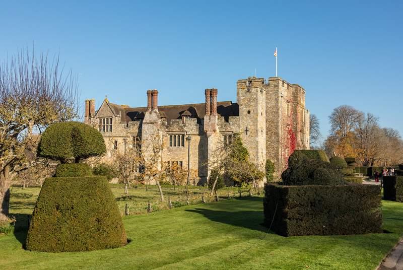 Hever Castle and Gardens near Edenbridge, Kent; the childhood home of Anne Boleyn.