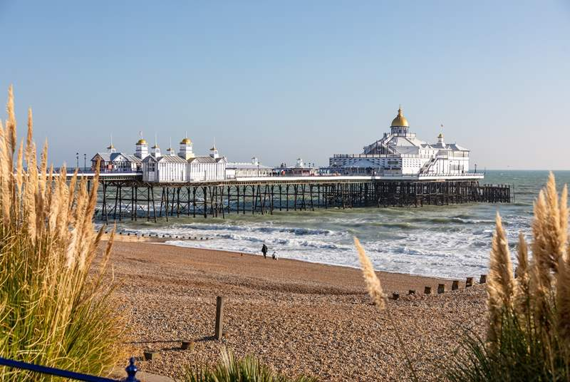 The pier at Eastbourne in East Sussex.