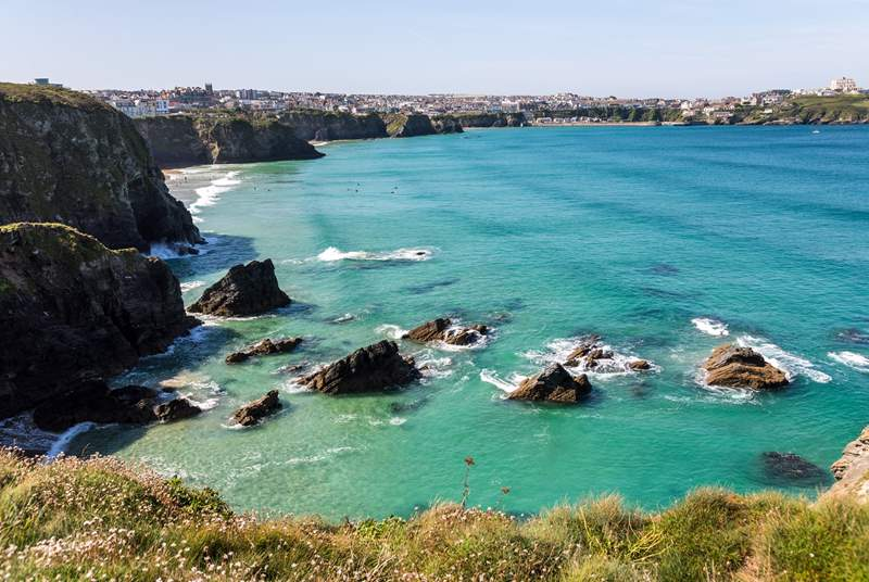 Take a day trip to Newquay, offering a wonderful choice of shops, places to eat and drink, and stacks of visitor attractions.