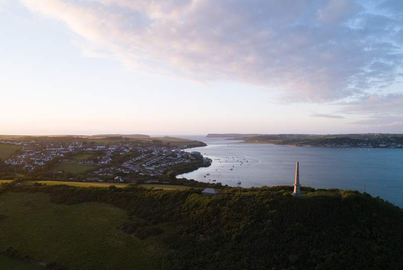 Less than three miles away is magical Padstow.