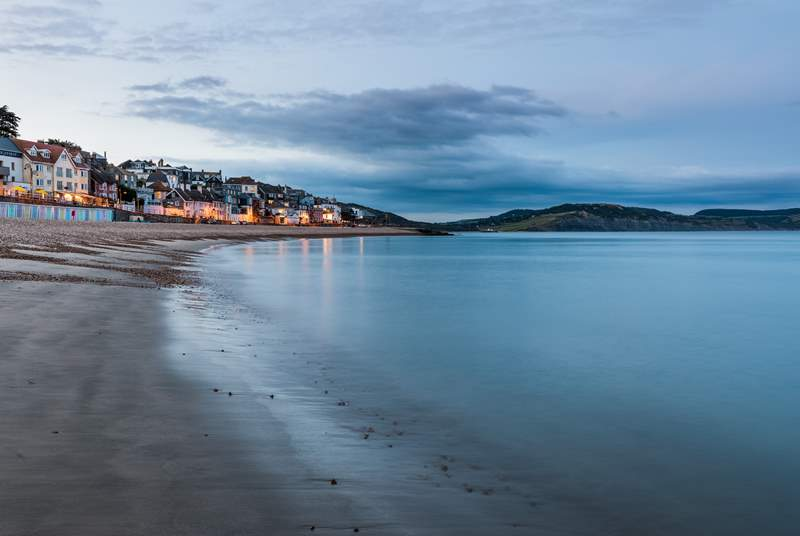 Nearby Lyme Regis has a sandy beach and a host of fantastic restaurants.