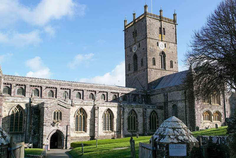 Do visit the magnificent St. David's cathedral.