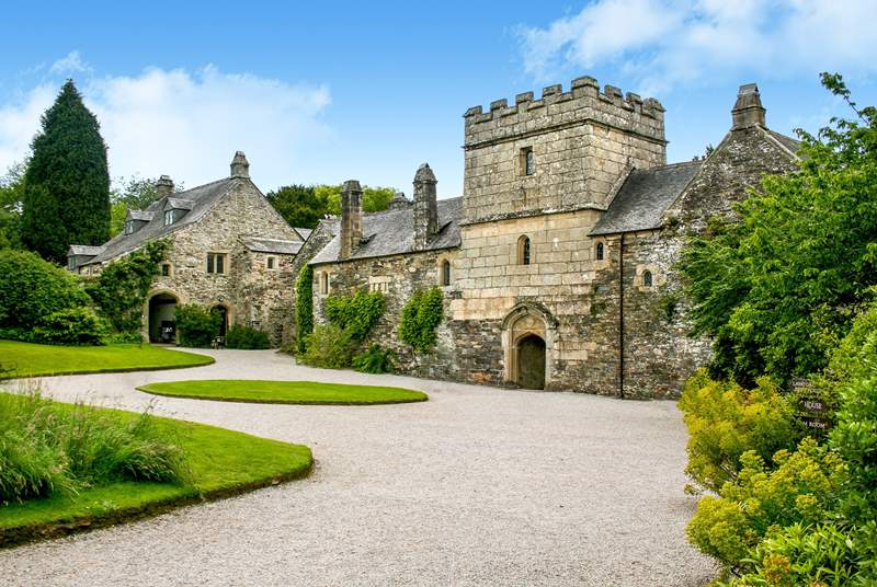 Make sure you take a trip out to the historic house and gardens at Cotehele (National Trust).