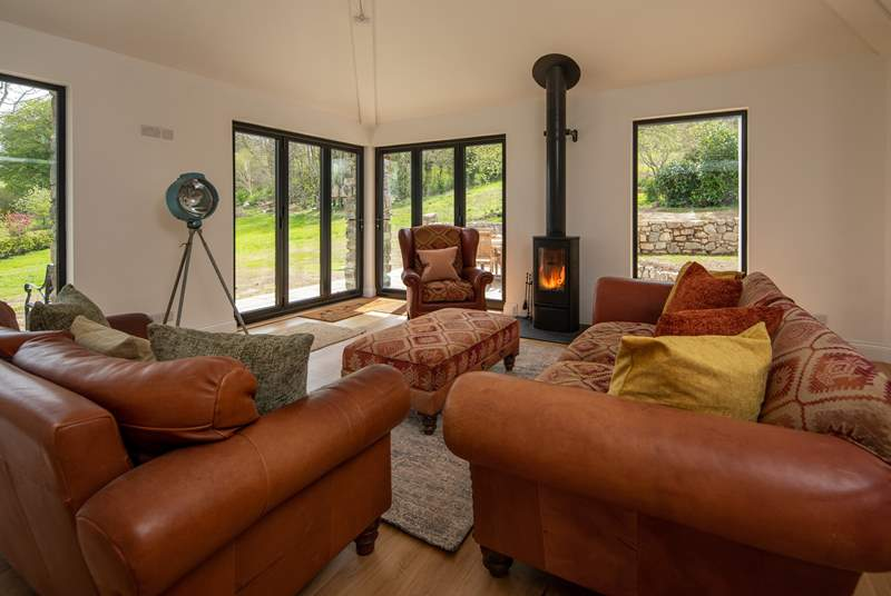 Cosy up in the evenings whilst still enjoying being surrounded by the beautiful Dartmoor countryside.
