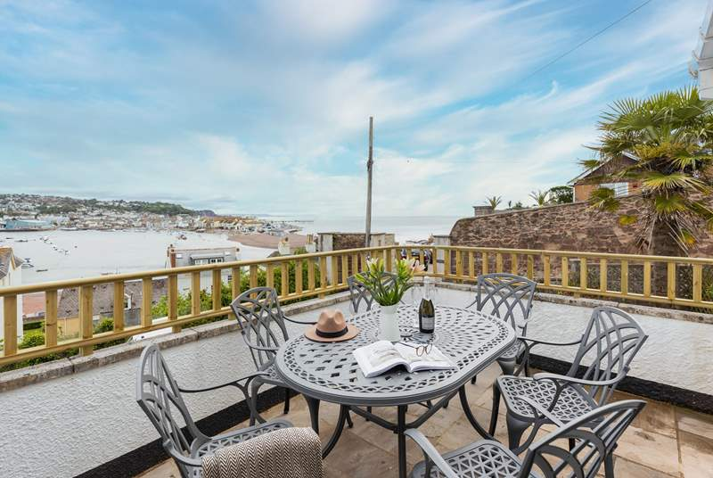 Spend many hours admiring the gorgeous views over Shaldon.
