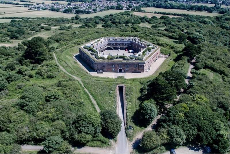 Golden Hill Fort is a Grade 1 listed building surrounded by wonderful countryside and sea views.