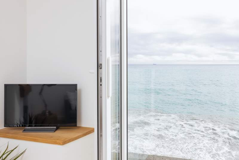 The view is ever-changing, you certainly won't need to watch any television.