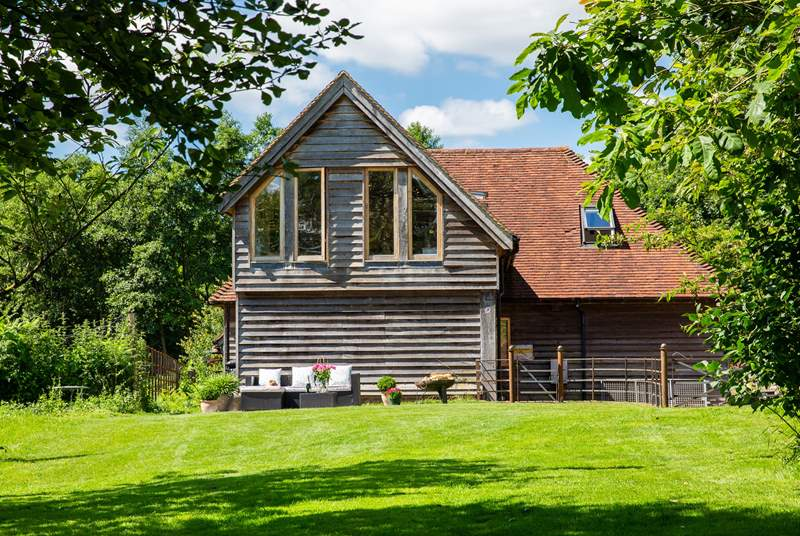 A peaceful retreat in the High Weald Area of Outstanding Natural Beauty.