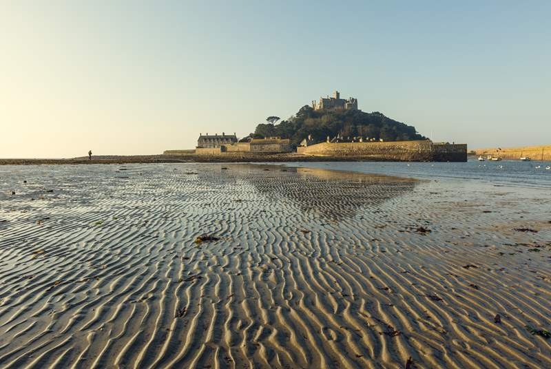 Take a day trip to St Michael's Mount to admire the tropical gardens and walk along the causeway at low tide.