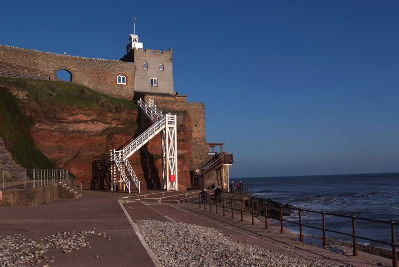 Jacobs Ladder Sidmouth, what a spot!