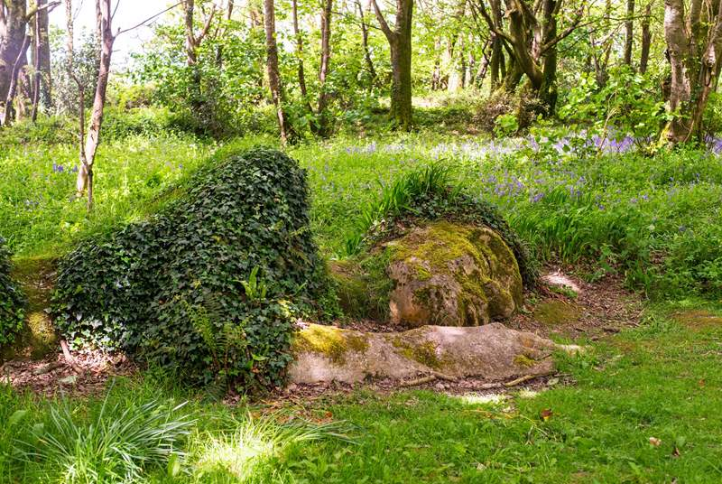 Mysterious Heligan Gardens are waiting to be explored.