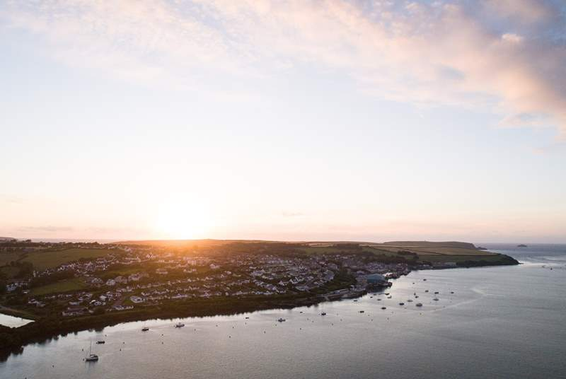 Head to nearby Padstow for Rick Stein's famous fish and chips.
