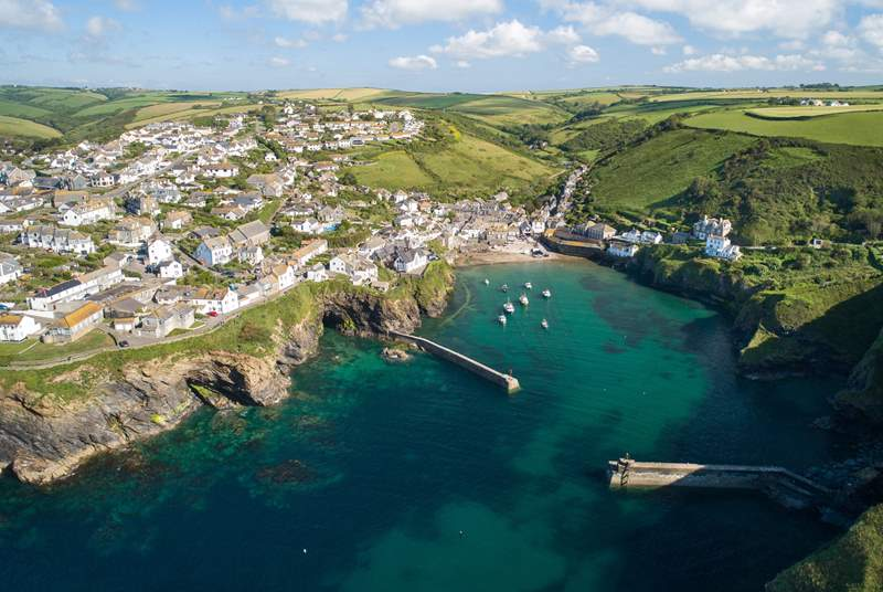 Ever wanted to see where Doc Martin was filmed? Port Isaac is a short drive away with fabulous walks around the area.