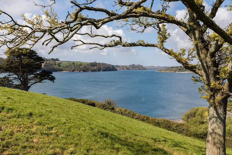 The Helford is known for its beautiful coastal walks, so don't forget the walking boots.
