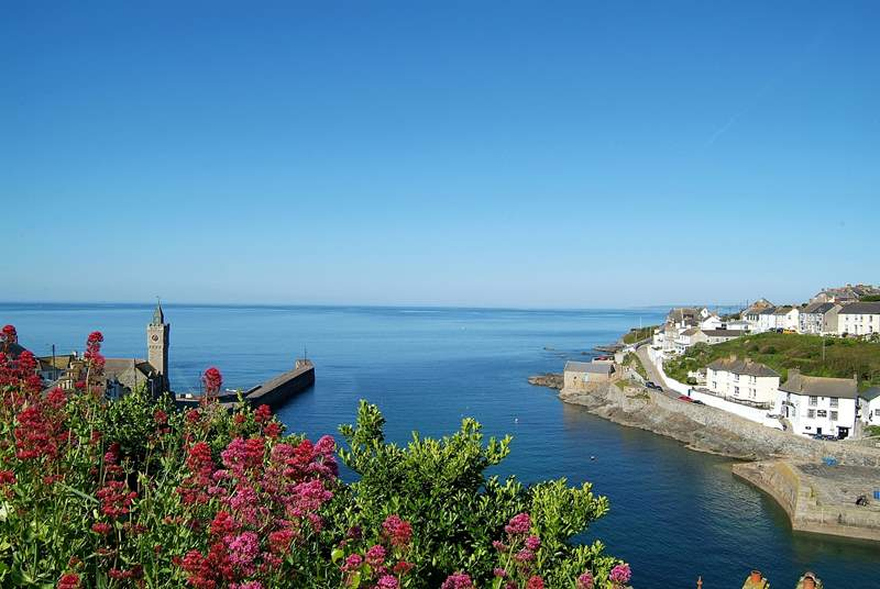 Beautiful Porthleven harbour.