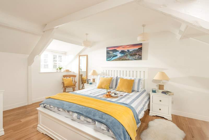 Harbour Light has two lovely bedrooms.