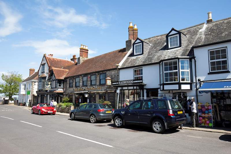 Yarmouth is a lovely town located by the ferry terminal.