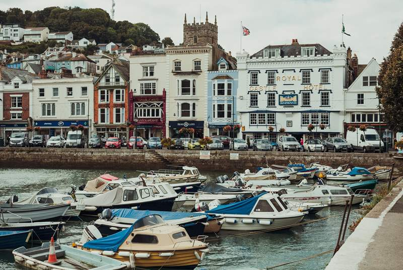 Dartmouth is a great place to spend the day.