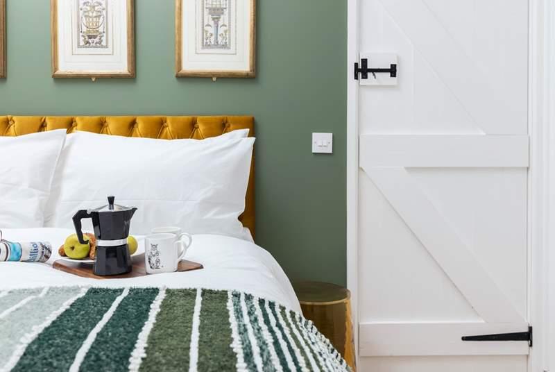 Beautifully styled bedroom 3.