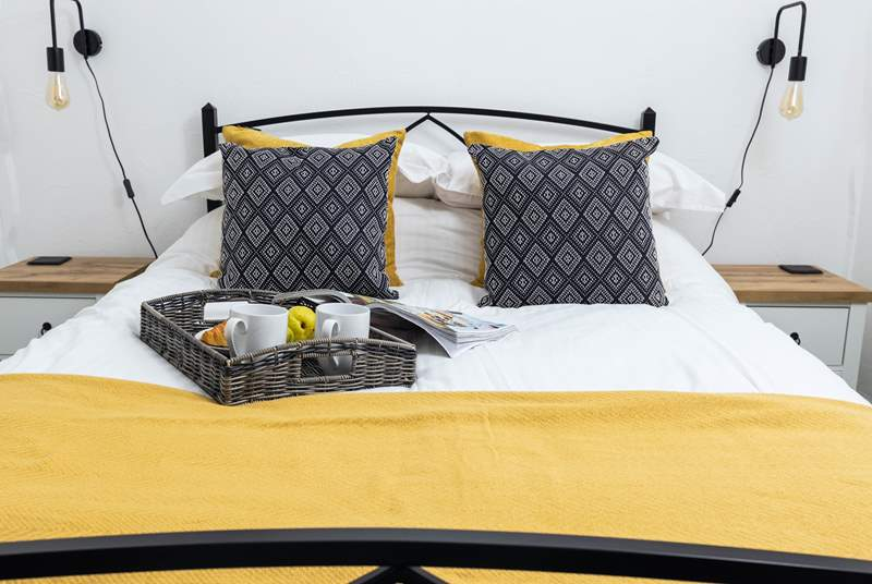 Bedroom 1 has been styled for your comfort and enjoyment.