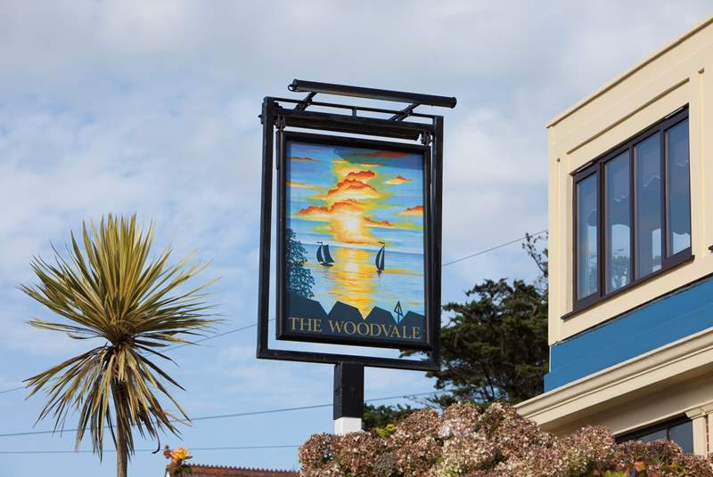 The Woodvale is a family-friendly pub within walking distance of The Shack