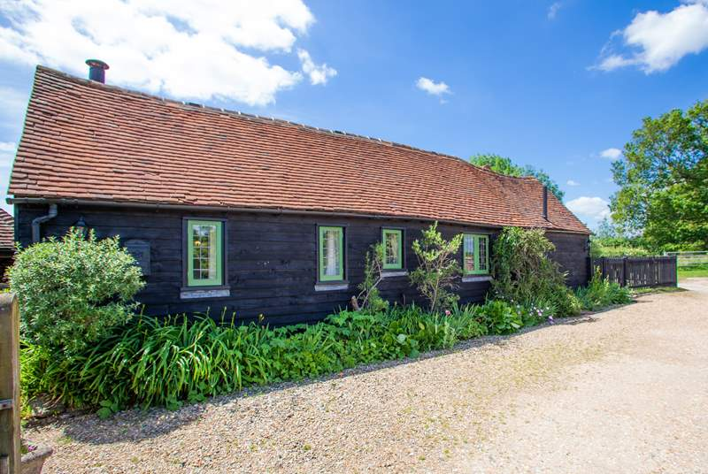 The Byre is a cosy retreat perfect for couples and singles.