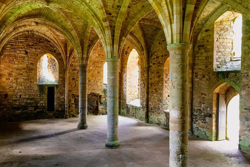 Battle Abbey and explore the ruins of William the Conqueror's famous abbey.