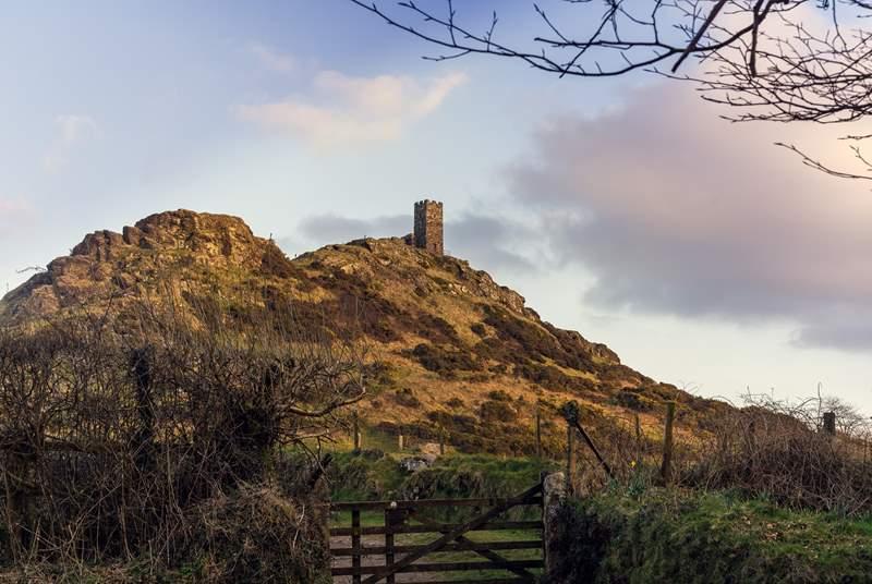 Captivating St Michael's Church overlooks Dartmoor.