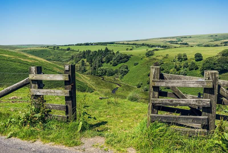 Exmoor National Park is close-by - a spectacular area for walking and cycling.
