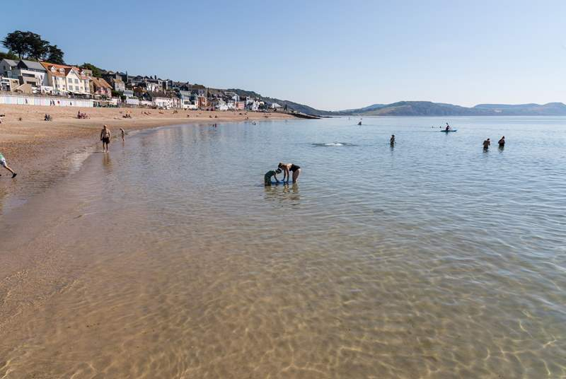 For a day at the seaside, head to Lyme Regis where as well as a sandy beach there are some fantastic restaurants.