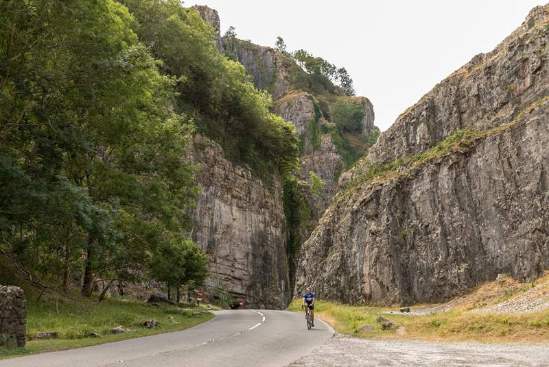 The magnificent Cheddar Gorge is a short drive away.