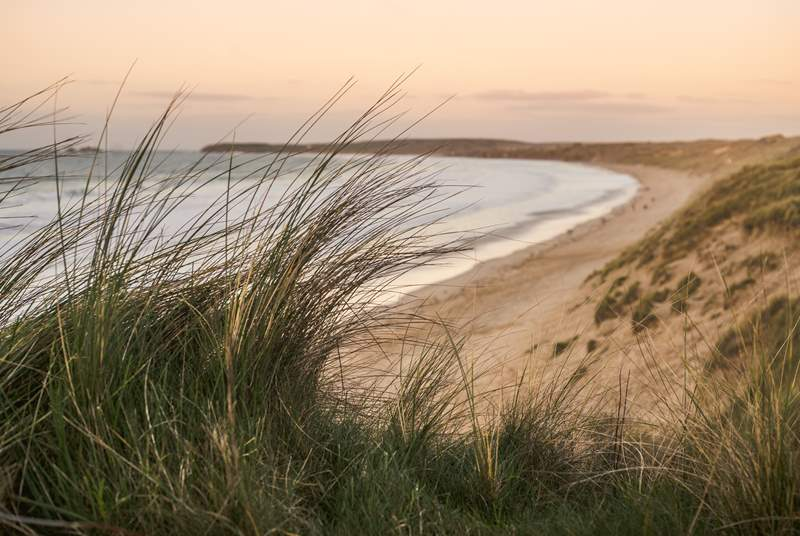 Gwithian beach is a short drive away and the perfect day out.
