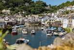 Pretty Polperro, another idyllic spot to visit during your stay.