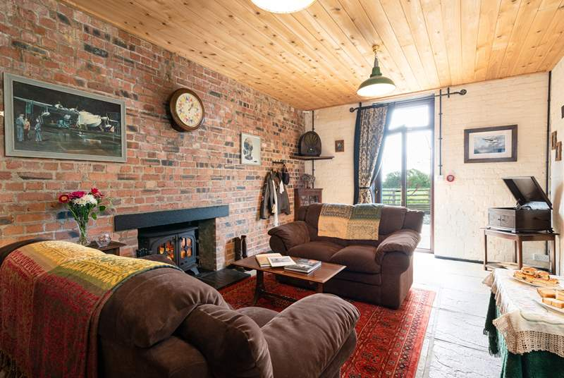 Soak up the calming atmosphere of days gone by around the cosy wood-burner.