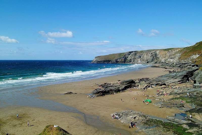 There's a great choice of beaches peppered along this part of the coast.