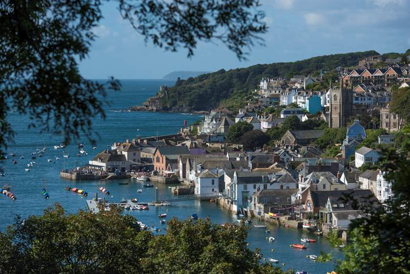 The trendy sailing town of Fowey is a short distance along the coast.