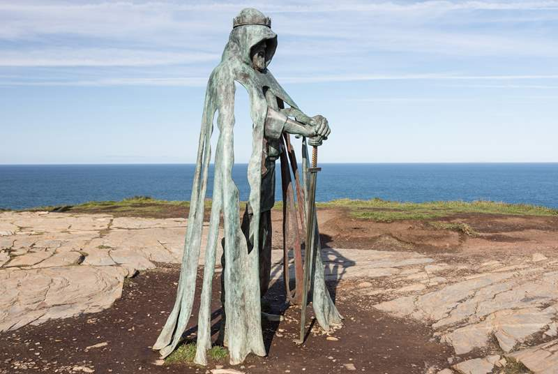 Visit Tintagel on the north coast for a day of myths and legends.
