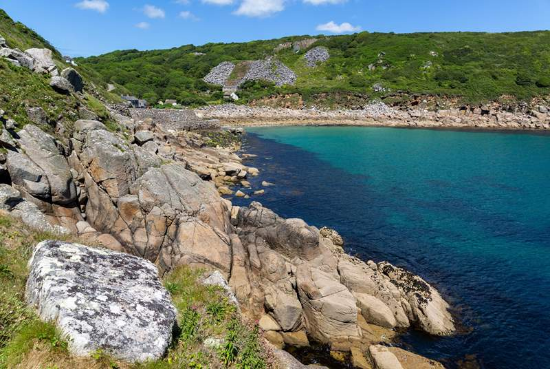 Wonderful coves are waiting to be discovered in this beautiful part of west Cornwall.