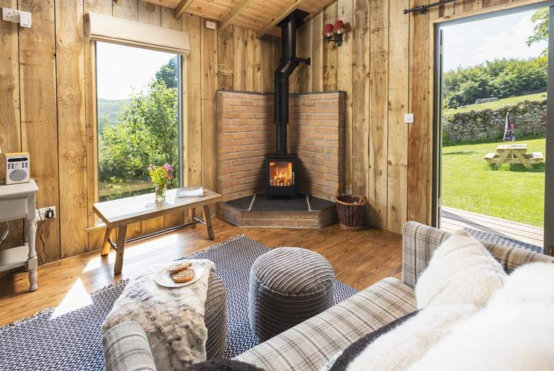 Relax by the fire and take in the breathtaking views of Dartmoor.