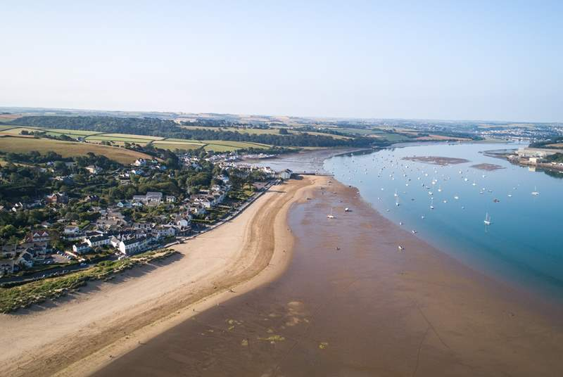 Cross the Cornwall/Devon border to explore places like Instow, Appledore and Westward Ho!