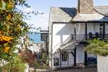 Charming Clovelly, waiting to be explored.