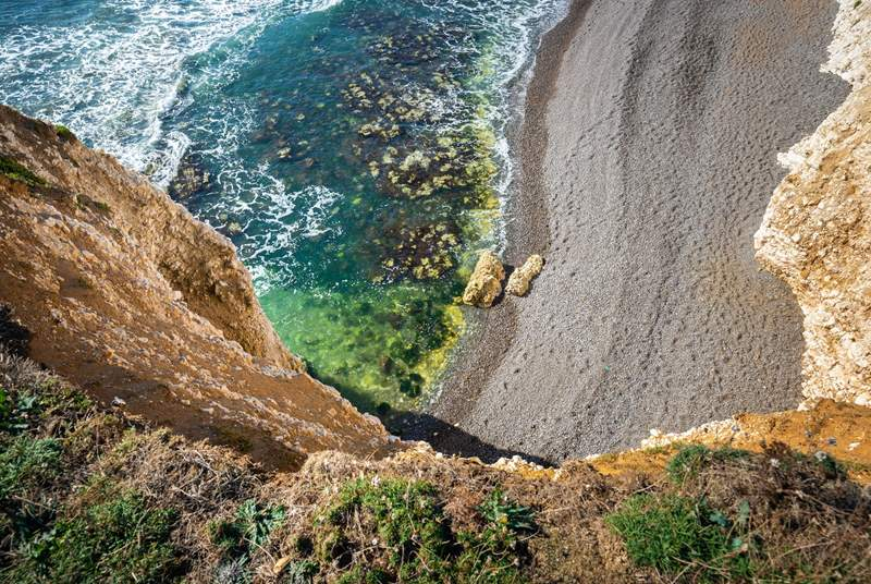 Freshwater Bay is a situated on the west side of the Island and is a stunning spot.