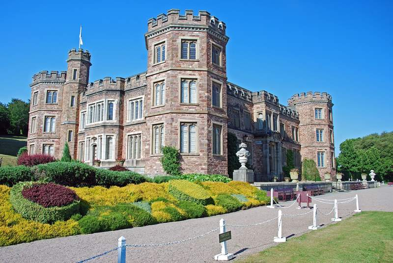 The historic house, gardens and parkland at nearby Mount Edgcumbe.