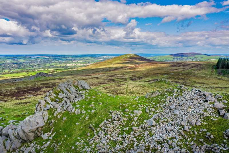 Pack a picnic and spend the day walking on the Preseli Mountains, steeped in legend, myth and history.