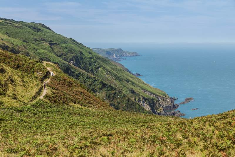 Pack the walking boots and make the most of the coastal paths in the area.