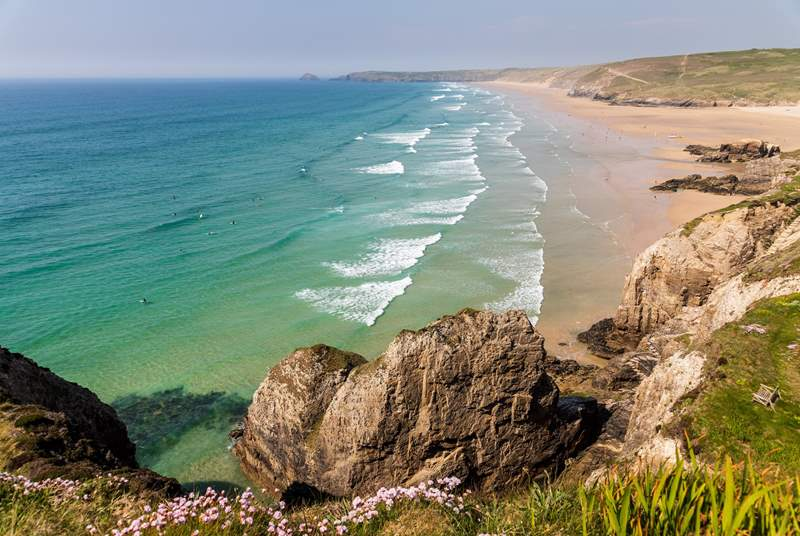 There are some amazing beaches and coves to discover on the north coast.