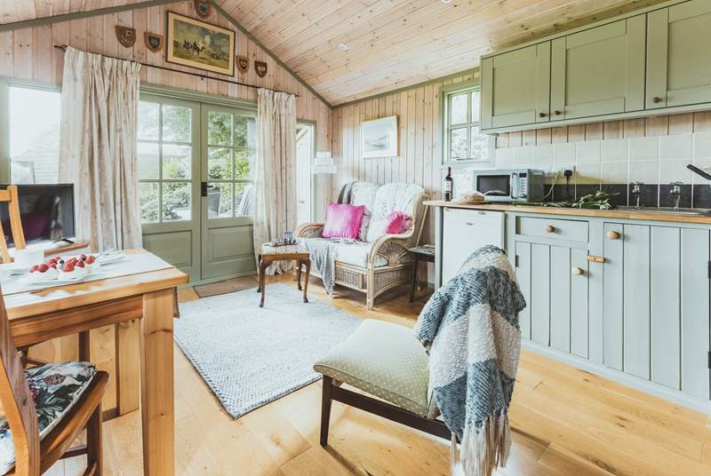 This beautiful hideaway is perfect for a cosy break for two.