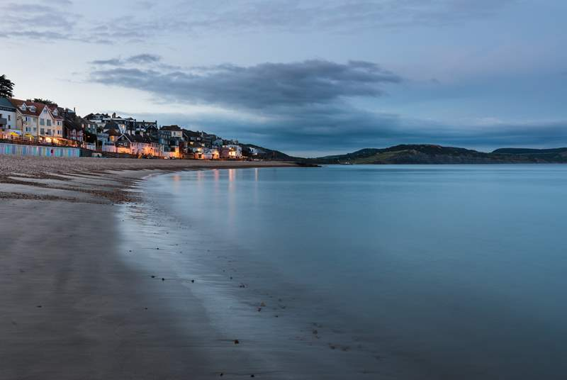 Beautiful Lyme Regis.