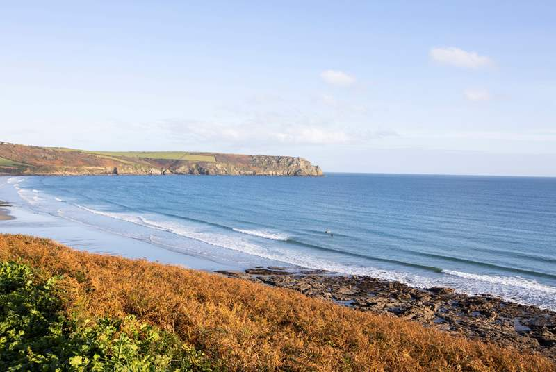 There are miles of the South West Coast Path to explore.